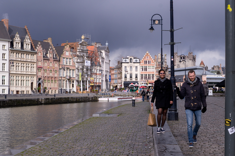 The City of Ghent featuring Reshma and Sander